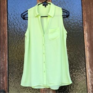 NWOT The Limited | Button Down Sleeveless Blouse